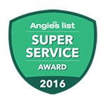 Super Service Award 2016 | Dynamic Carpet Care