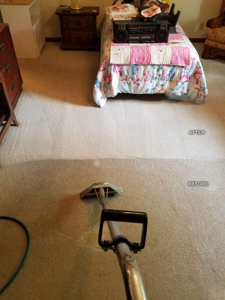 Bedroom Carpet Before After
