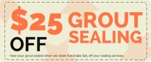 Tulsa Grout Sealing Coupon