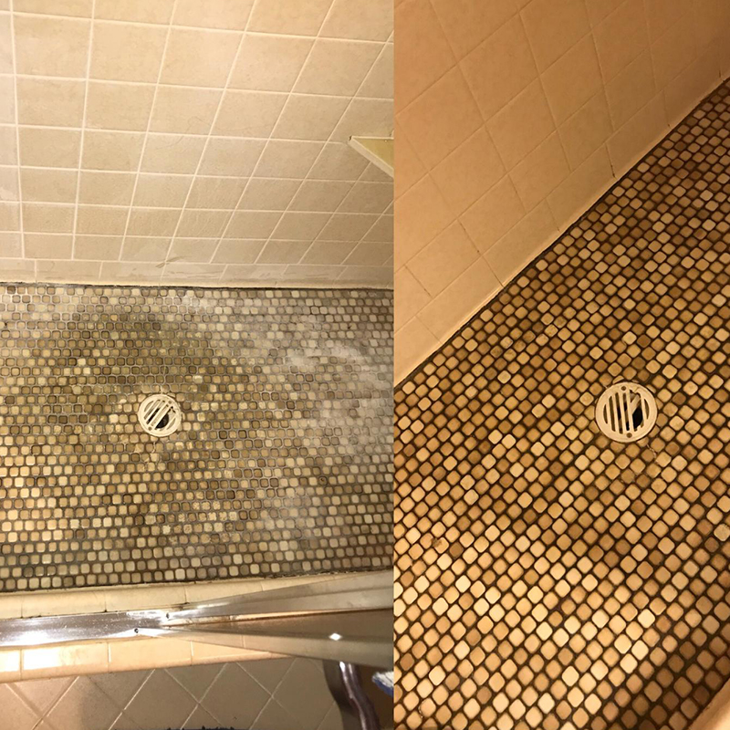 Shower Tile Cleaning Tulsa