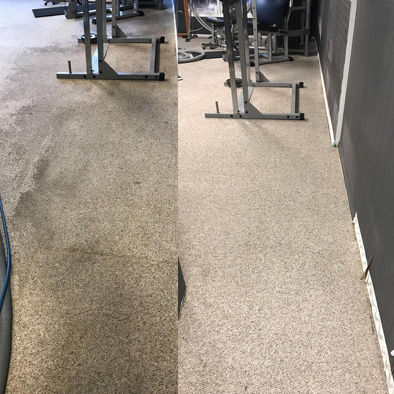 Tulsa Carpet Cleaning Before and After